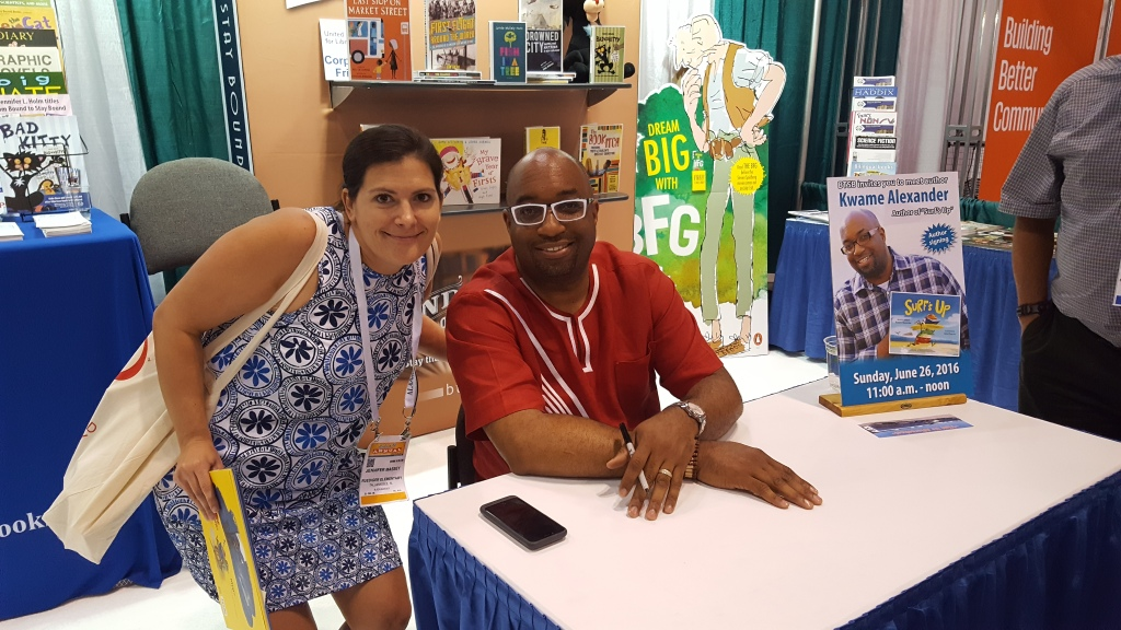 Book signing of Surf's Up with Kwame Alexander
